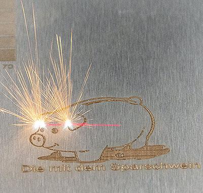 Piggy Laser Marker